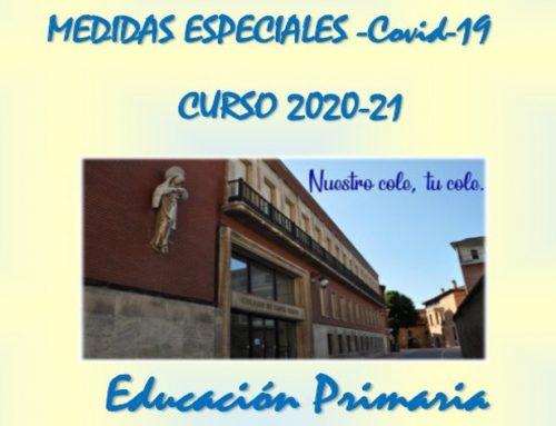 MEDIDAS ESPECIALES COVID-19 EDUCACIÓN PRIMARIA
